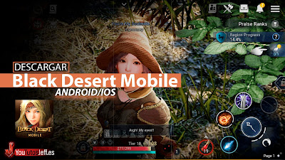 como descargar black desert mobile