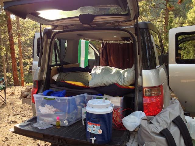 Honda Element Conversion >> Colorado Adventures: Honda Element Camper/Platform