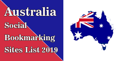 Australian Social Bookmarking Sites List
