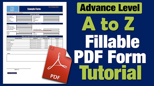 create fillable pdf from word