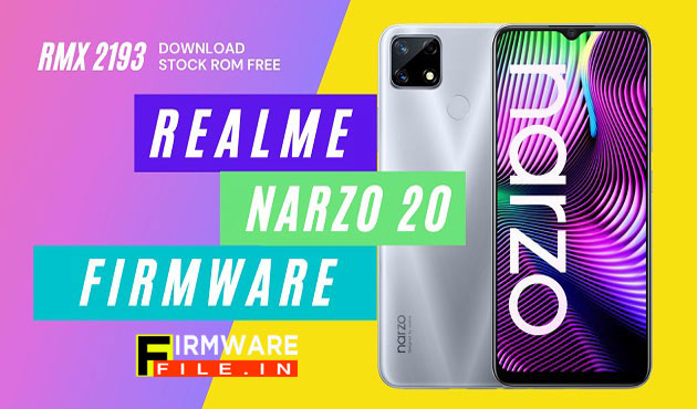 Realme Narzo 20 RMX 2193 Flash File