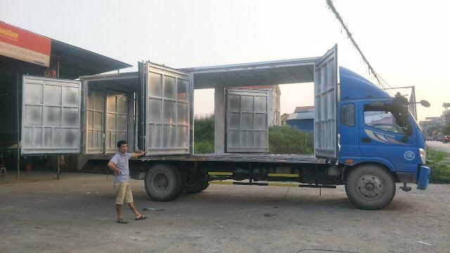 Hoán cải cải tạo thùng xe tải cũ