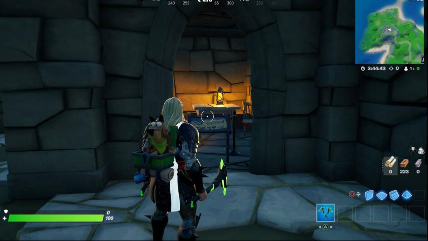 Where is the love potion in Ruinous Fort?