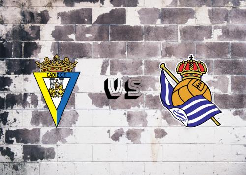 Cádiz vs Real Sociedad  Resumen