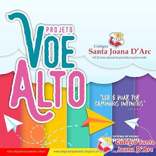CSJD Lança projeto Voe Alto...