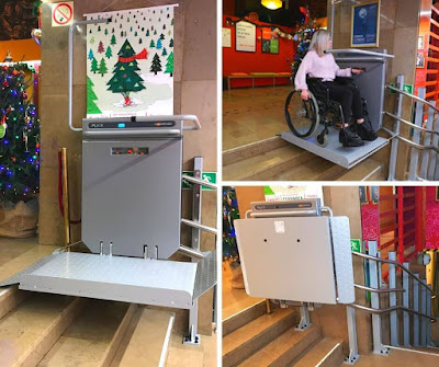 Winda schodowa dla niepełnosprawnych w teatrze