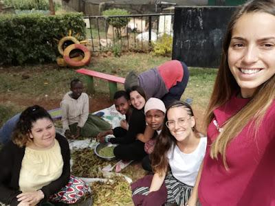 El intercambio y acercamiento a la cultura keniata fue parte del viaje