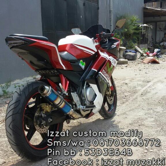 Bodi Belakang Model Ninja 250fi Pnp Vixion Dan Byson Izzat Custom
