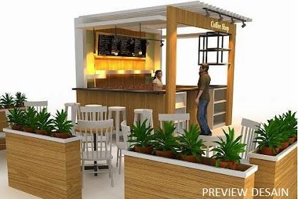 Desain Coffee Shop Konsep Go Green