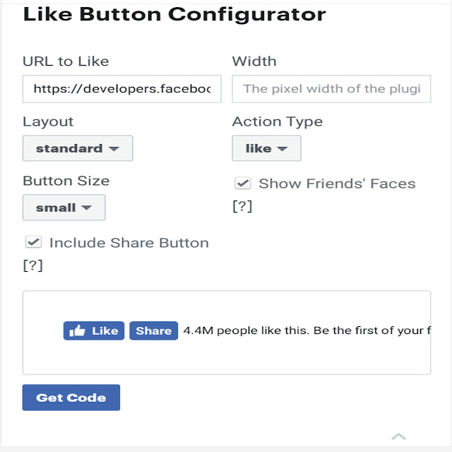 Blog website me like button kaise add kare|