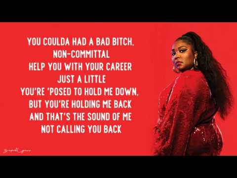 """Truth Hurts"" lyrics - Lizzo"
