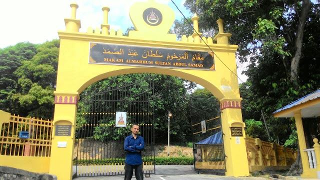Makam Sultan Abdul Samad, Jugra,