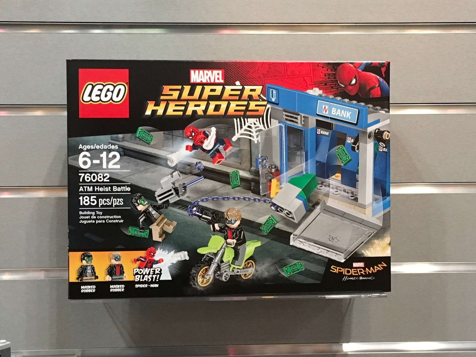 LEGO SPIDER-MAN: HOMECOMING Sets Revealed at Toy Fair 2017