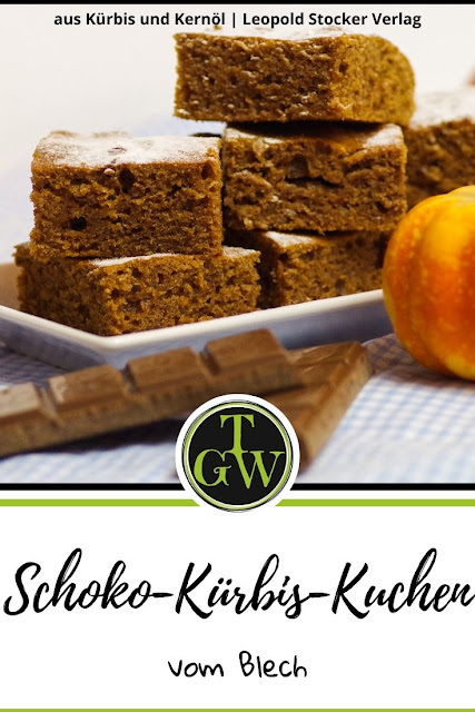 Schokoladen-Kürbis-Kuchen vom Blech #kürbis #schokokuchen #kürbiskuchen #schokolade