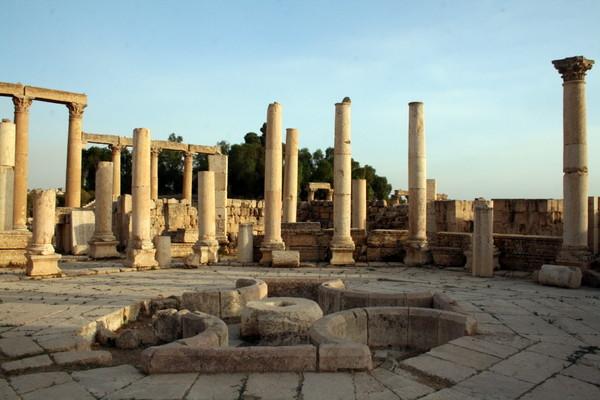 Macellum (Jerash, Jordania)