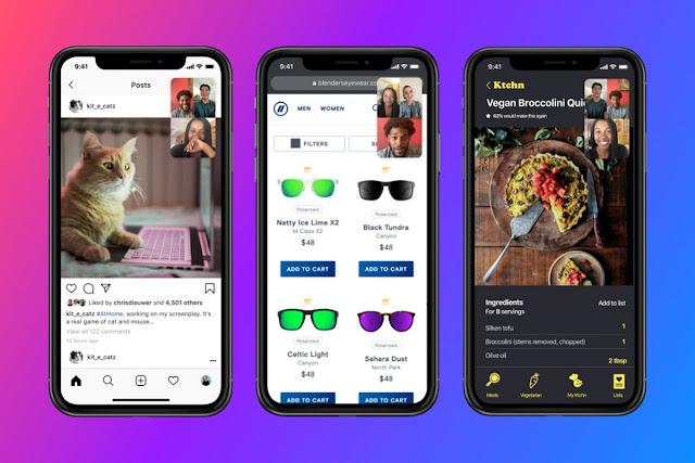 فيسبوك يضيف ميزة مشاركة الشاشة على Messenger
