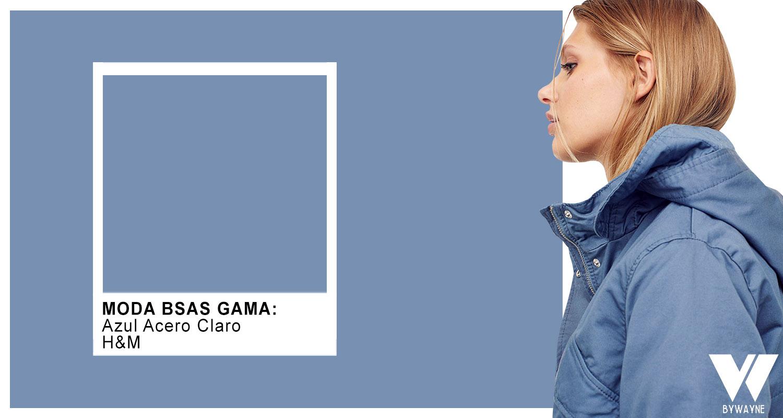 Azul Acero Claro paleta de colores invierno 2021