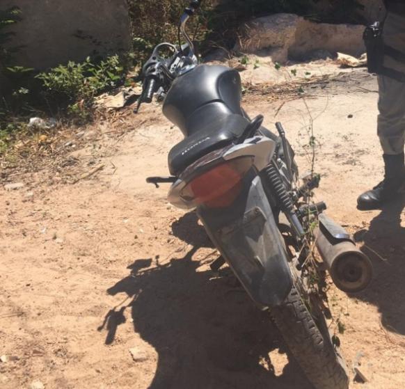 7° BPM recupera motocicleta em Santana do Ipanema