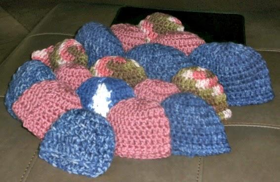 Tracys Crochet Bliss Preemie Hats
