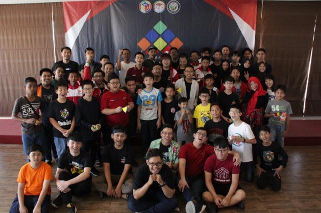 Indonesian Championship 2019 Kubus Rubik Kompetisi Lomba