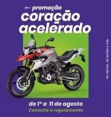 Promoção Shopping Campo Limpo Dia dos Pais 2019 Coração Acelerado - Concorra Moto 0KM