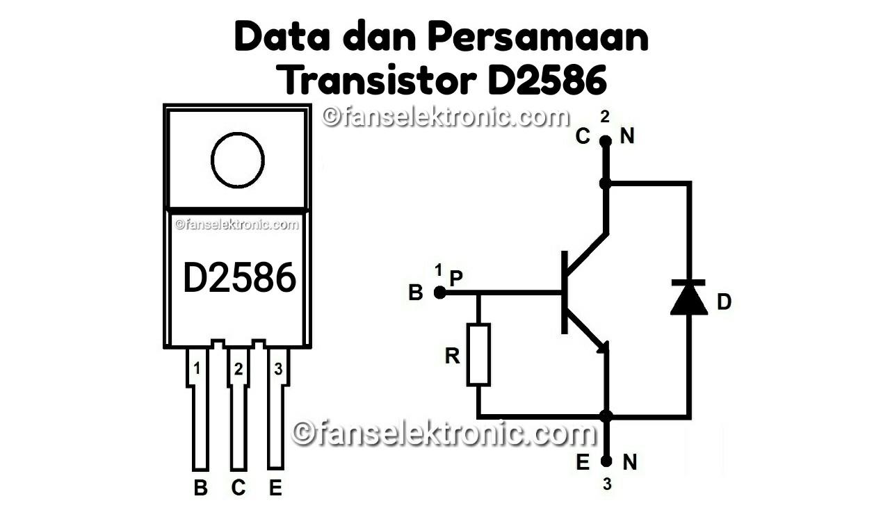 Persamaan Transistor D2586