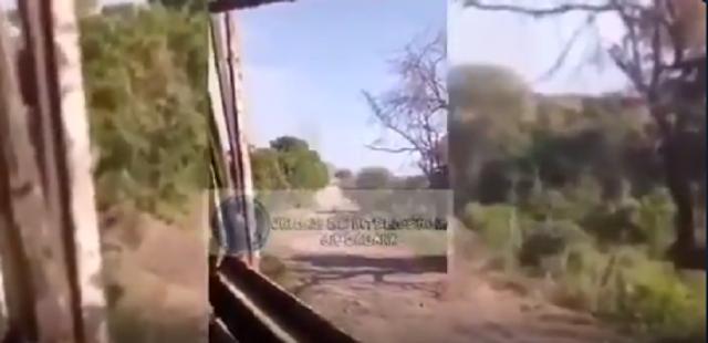 Video:  Así fue como Sicarios del CJNG corretearon a uno de los líderes de Carteles Unidos en Michoacán tras haber insultado a El Mencho