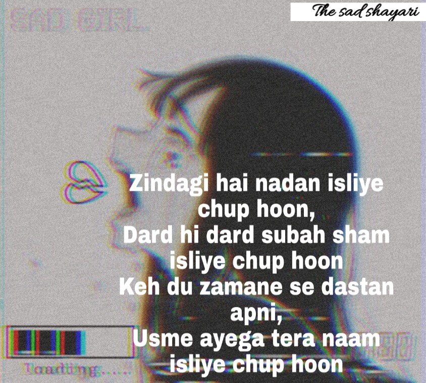 10+ sad shayari with images ,