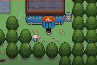 Pokemon Moon Galaxy GBA Gimnasio de Ciudad Verde