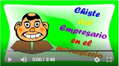 miniatura del chiste en youtube del chistes del empresario en el monasterio