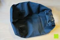leer hinten: Dry Bag »Krake« Wasserdichte Trockentasche / Seesack / Survival Bag / Trockensack / Ideal für Kajak, Kanu, Segeln, Angeln, Schwimmen, Strand, Snowboarden, Skifahren, Bootfahren, Camping / Schützt Deine Wertsachen und Kleidung vor Staub, Nässe, Sand und Schmutz / 5L gelb