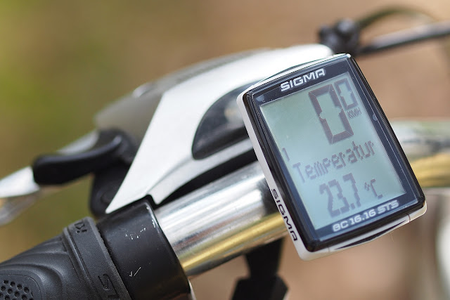 Czas na rower - Sigma BC 16.16 STS - RECENZJA