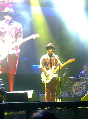 Bruno Mars Live in Manila concert, April 9, 2011