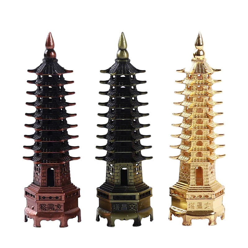 Chinese Pagoda, Nine Symbol and Meaning