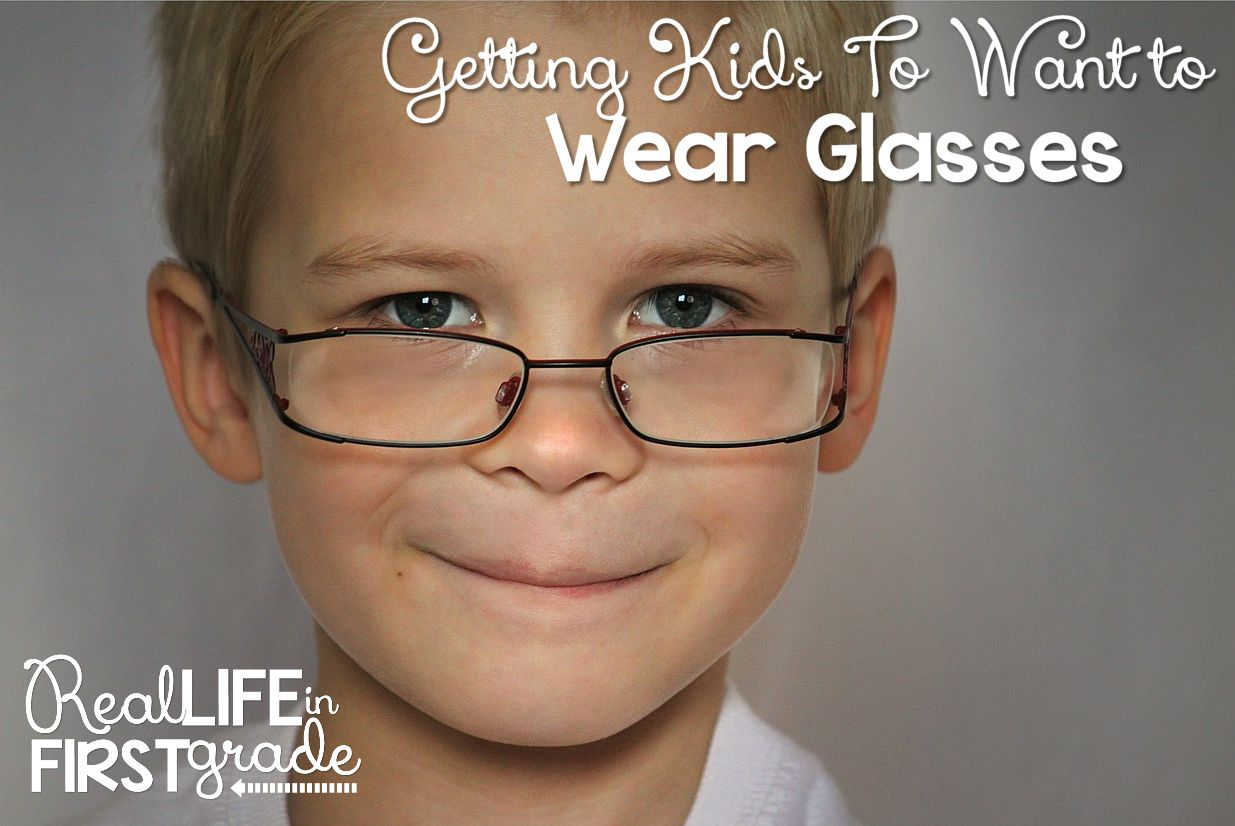 Real Life in First Grade: Getting Kids to WANT To Wear Their ...