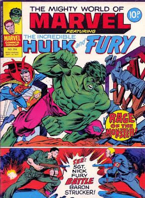 Mighty World of Marvel #259, Hulk vs the Defenders