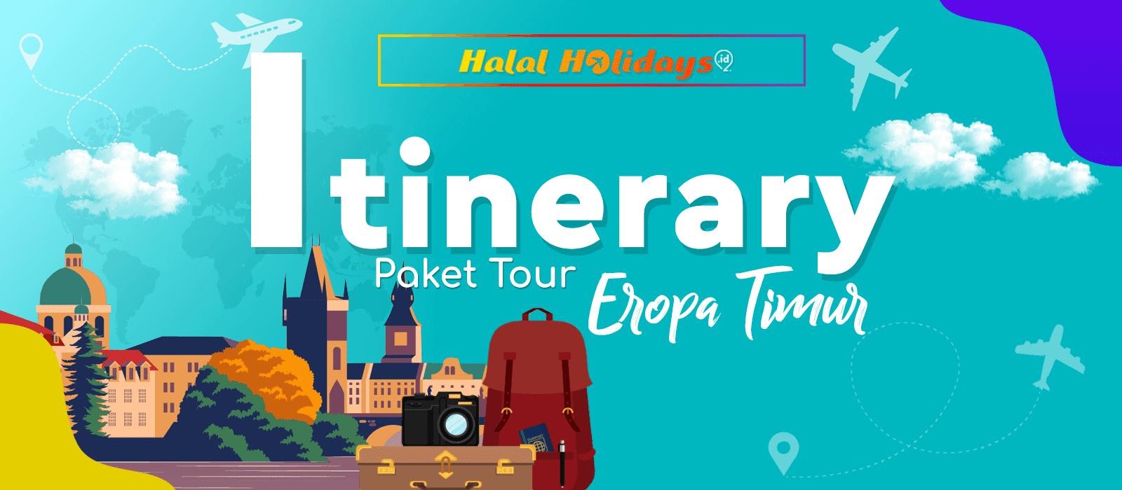 Itinerary Paket Tour Eropa Timur 9 Hari