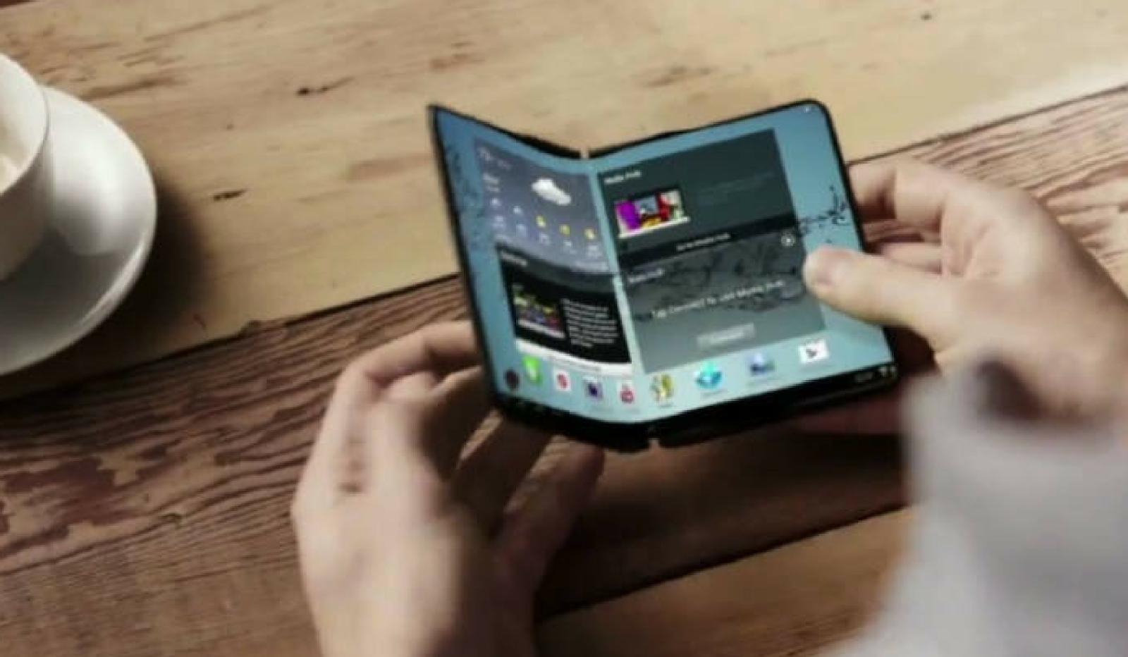 سامسونج للإعلان عن إطلاق هاتف ذكي قابل للطي في أوائل عام 2019