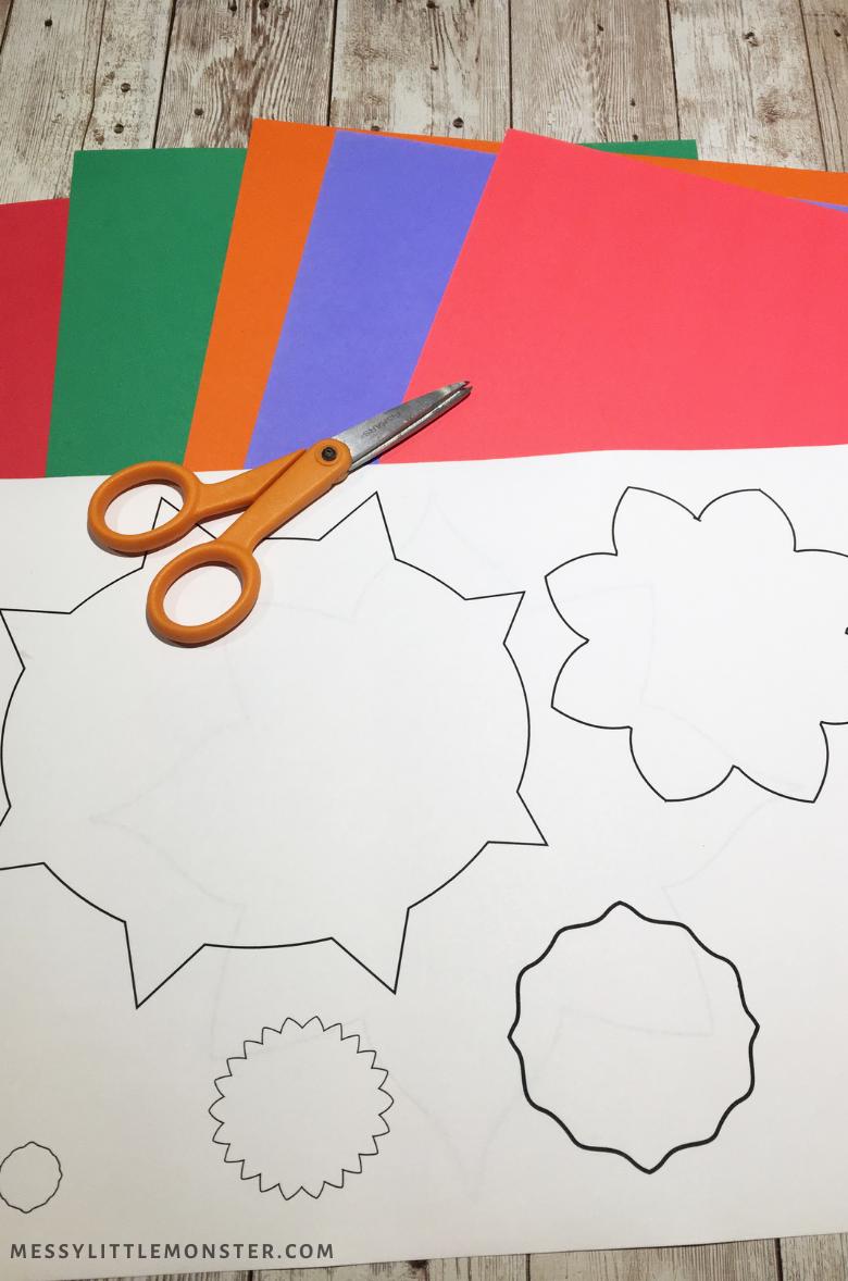 Printable Diwali rangoli patterns template