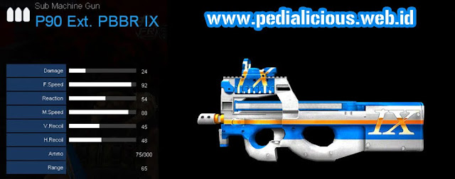 Detail Statistik P90 Ext. PBBR IX