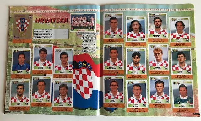 Figurine Croazia Euro 96