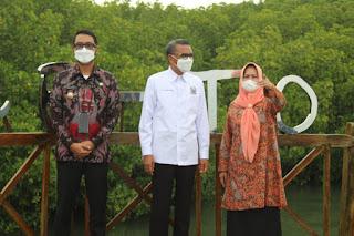 Gubernur Sulsel Respon WhatsApp Wakil Bupati Sinjai  insya Allah akan di Tindak lanjuti Abrasi Sungai Tui