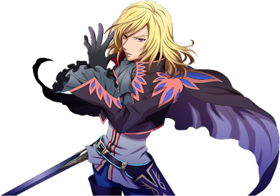 Concept art of Richard from Tales of Graces.