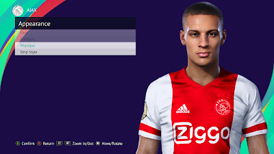 PES 2021 Faces Antony