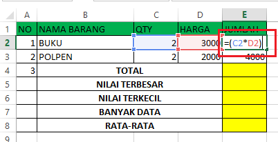 Belajar Microsoft Excel