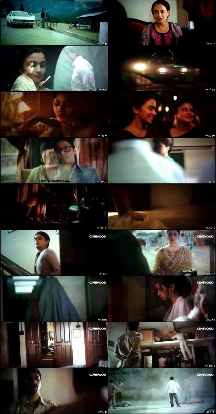 Raazi 2018 Hindi Pre-DVDRip 700Mb x264