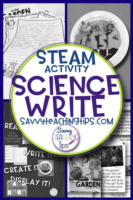 STEAM.  A fantastic bulletin board idea.  A detailed life science lesson that integrates ELA, Science and Art and looks great.  The parents will think you are a fantastic teacher.
