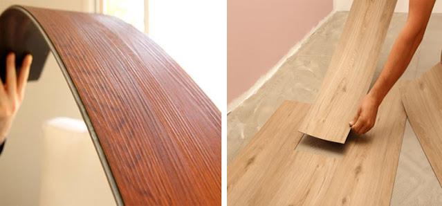 Jual lantai vinyl untuk area kamar mandi