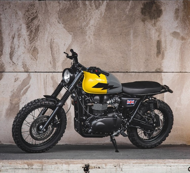 Triumph Scrambler By Injustice Customs Hell Kustom
