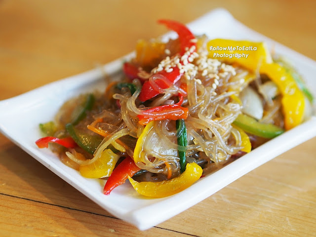 Japchae Glass Noodles With Vege